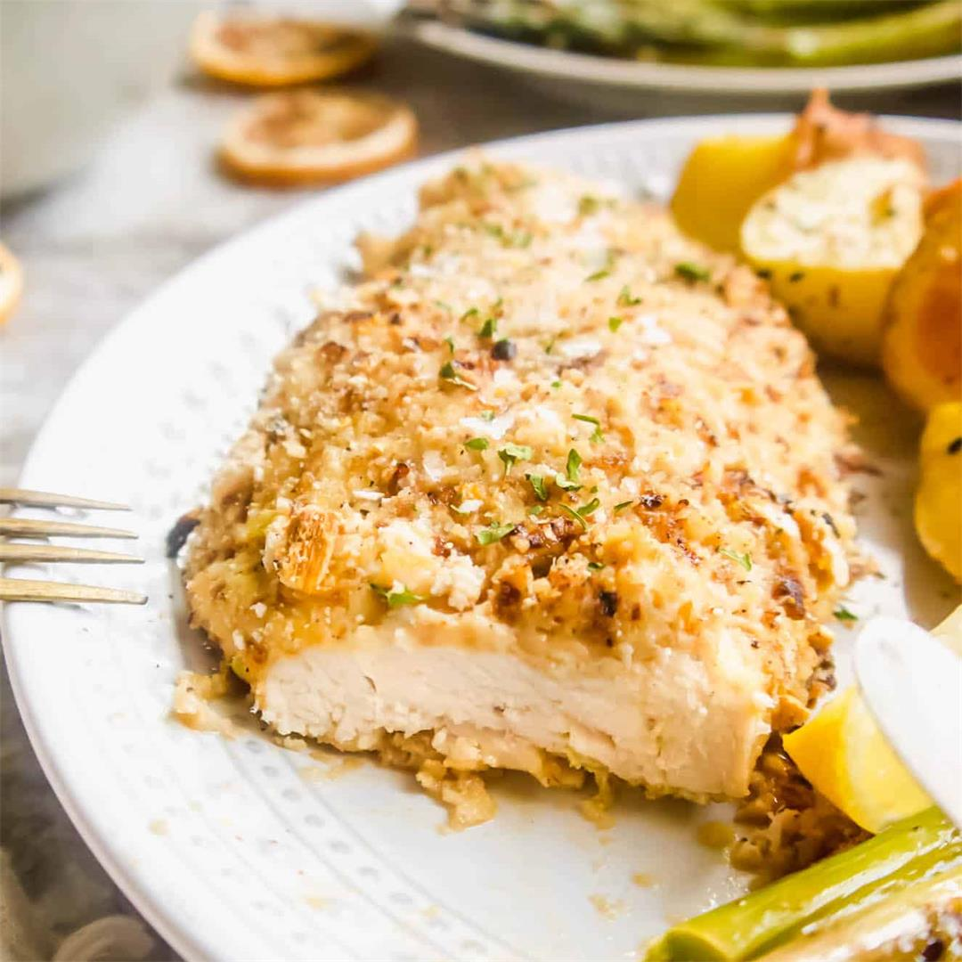 Dried Lemon Crusted Baked Chicken (Paleo, Whole30)