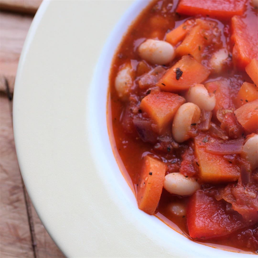 Italian Bean Soup (Vegan, GF)