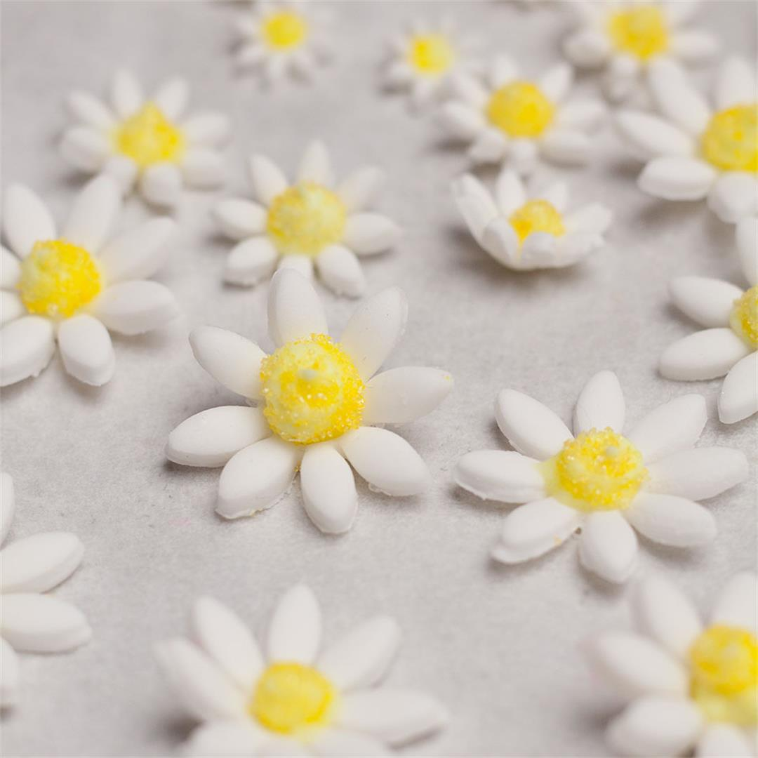 How to make easy sugar daisies