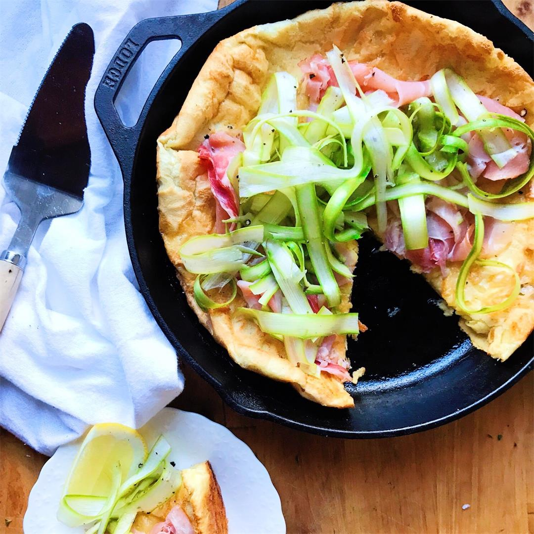 Savory Gruyere Dutch Baby