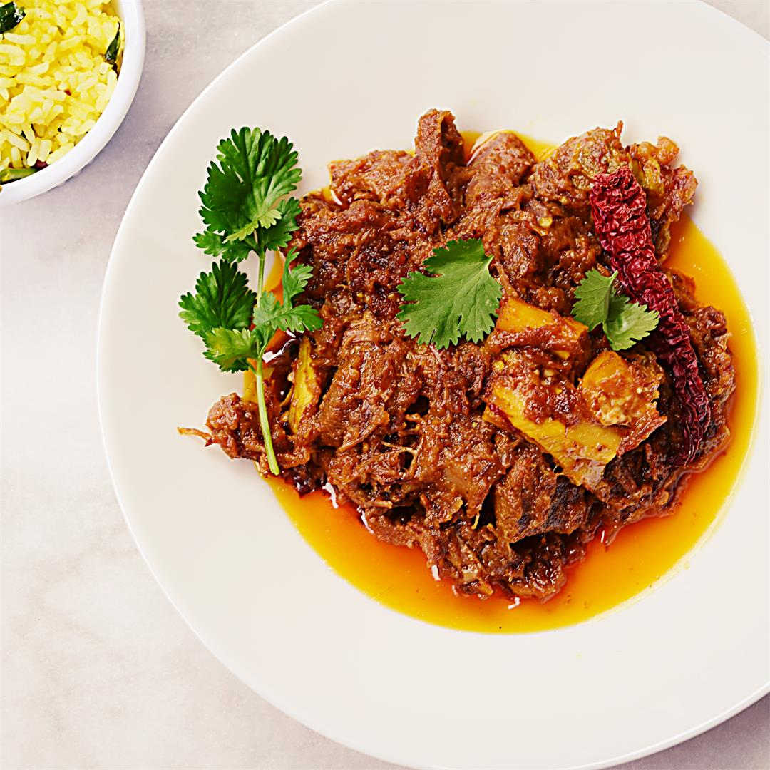 Bengali Mutton Kasha / Kosha Mangsho