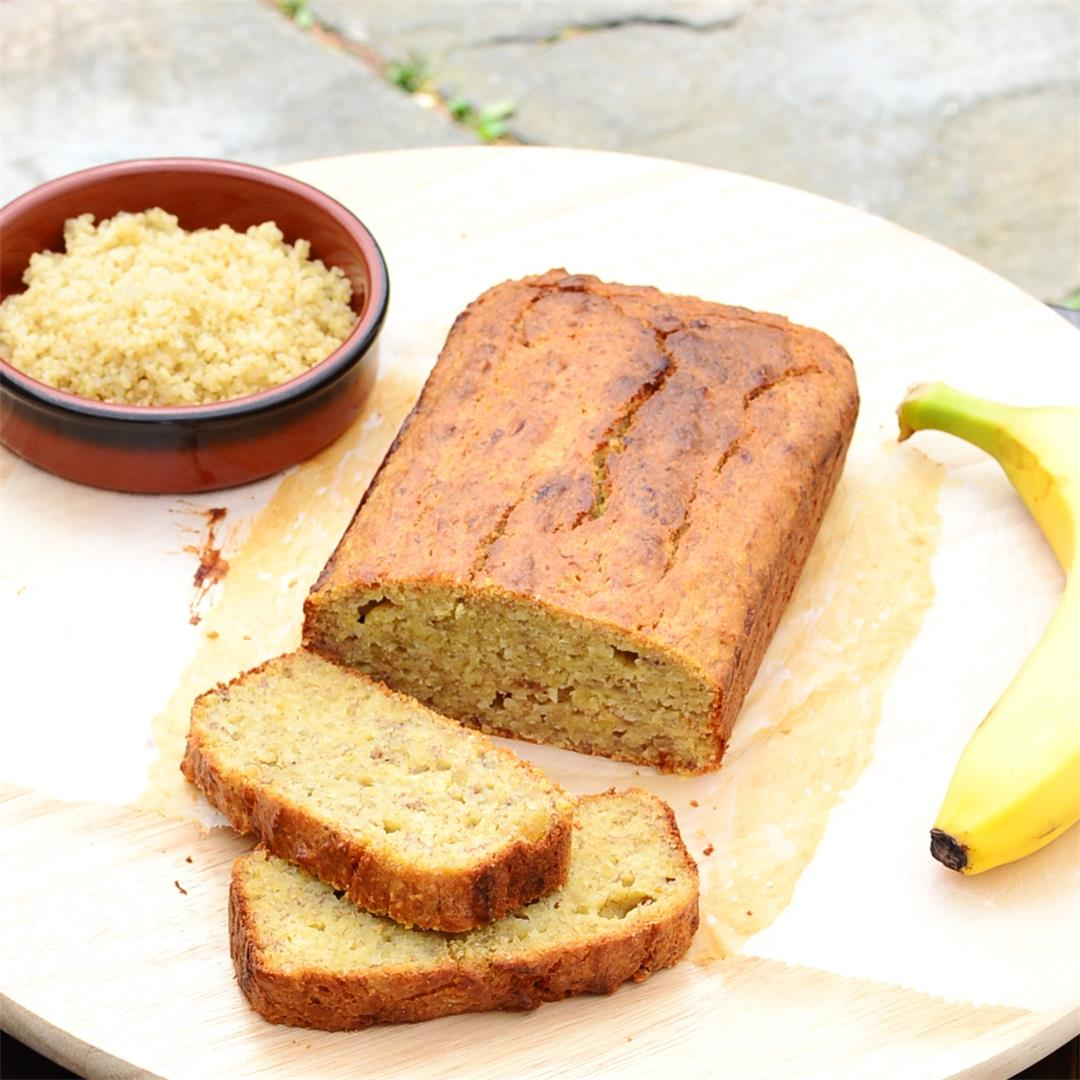 Banana Bread with Quinoa
