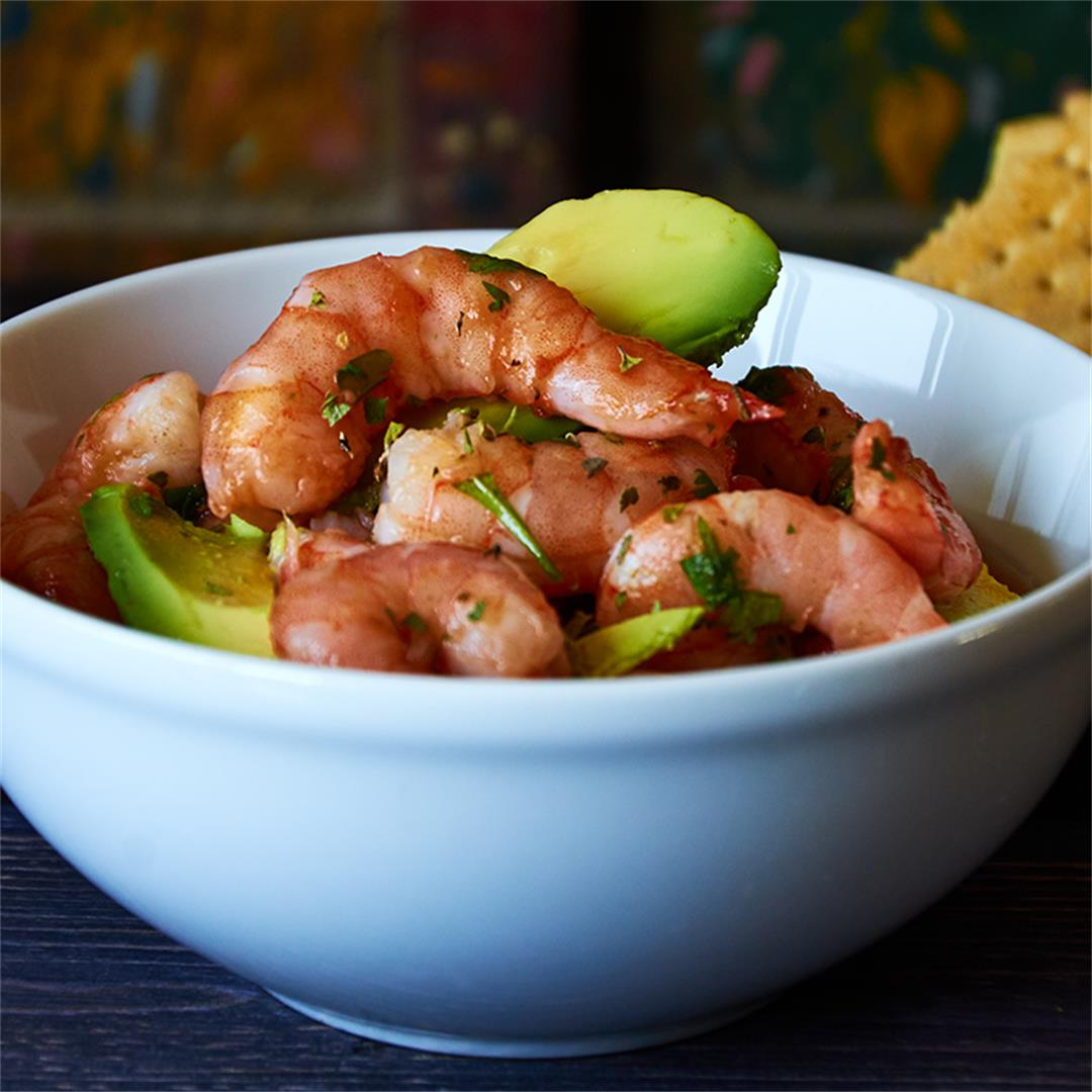 Shrimp Ceviche Acapulco