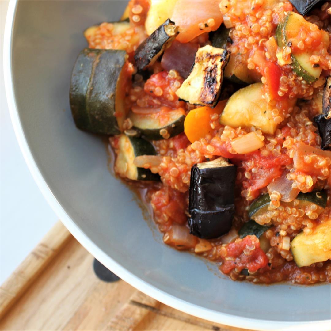 Quick Veggie Quinoa