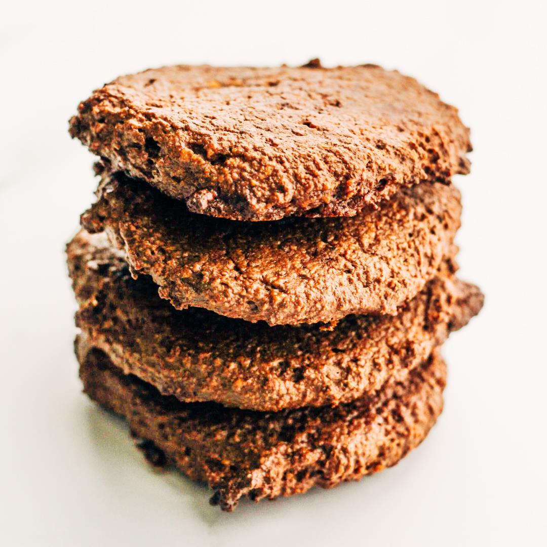 Easy Chocolate Hemp Vegan Cookies