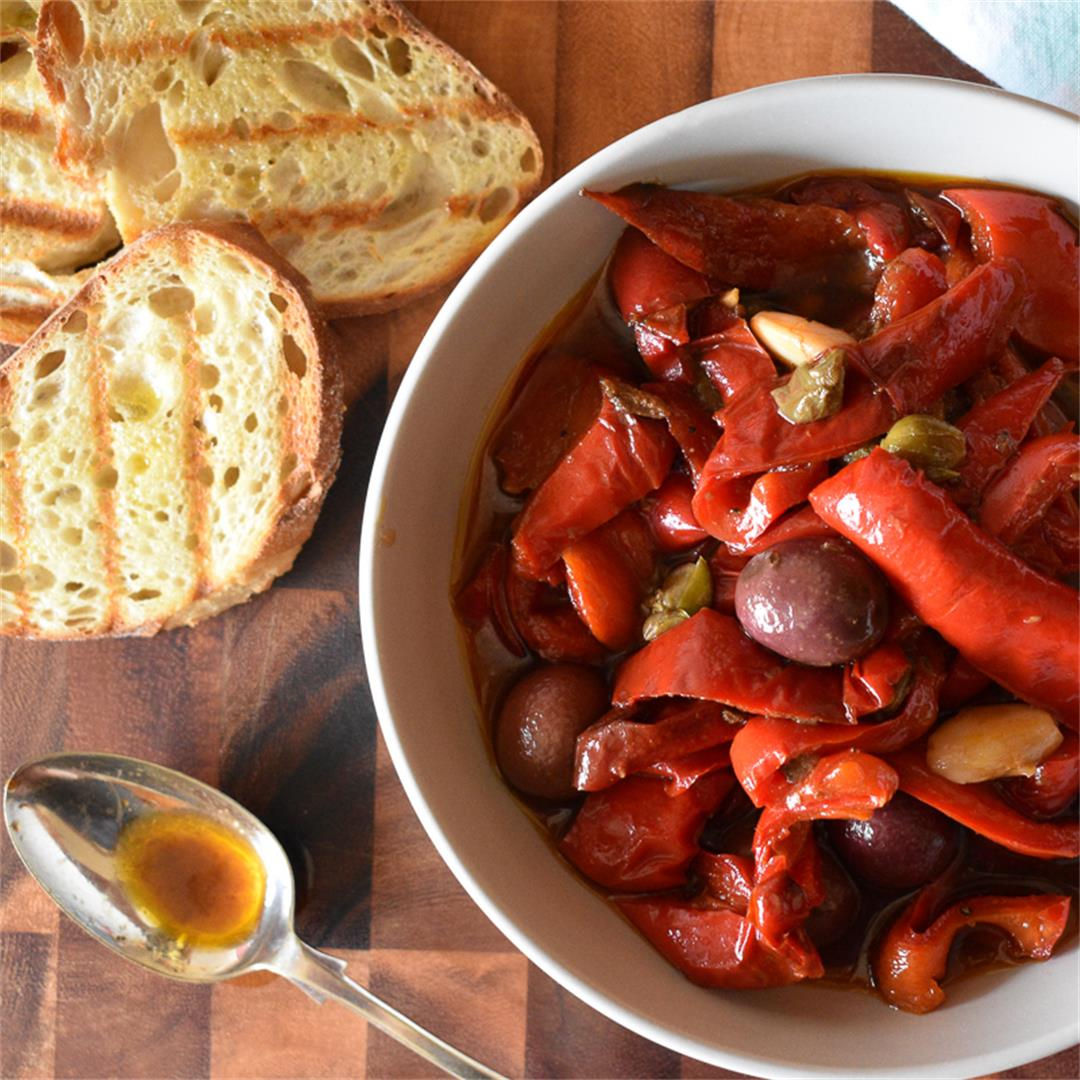 Italian Sweet and Sour Peppers