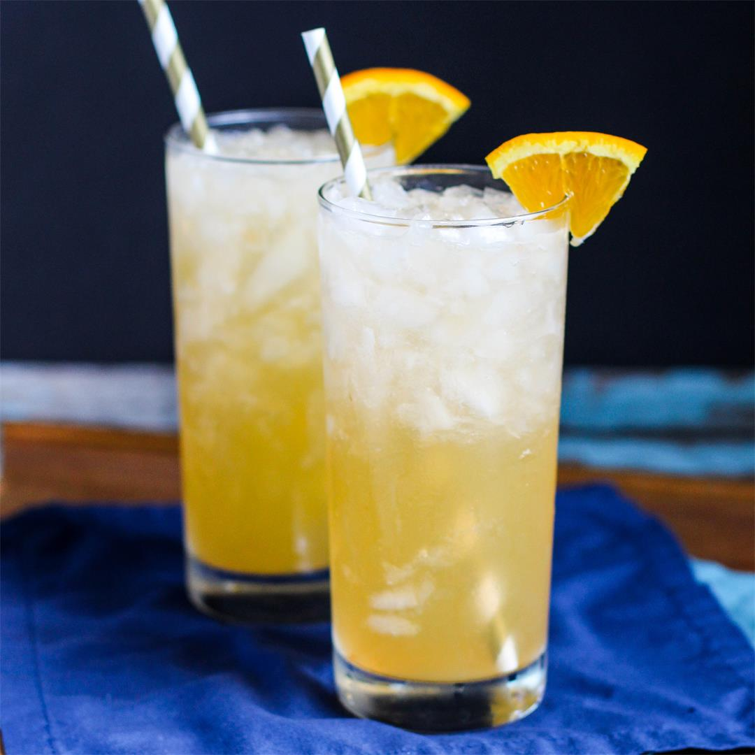 Orange Creamsicle Crush Cocktails