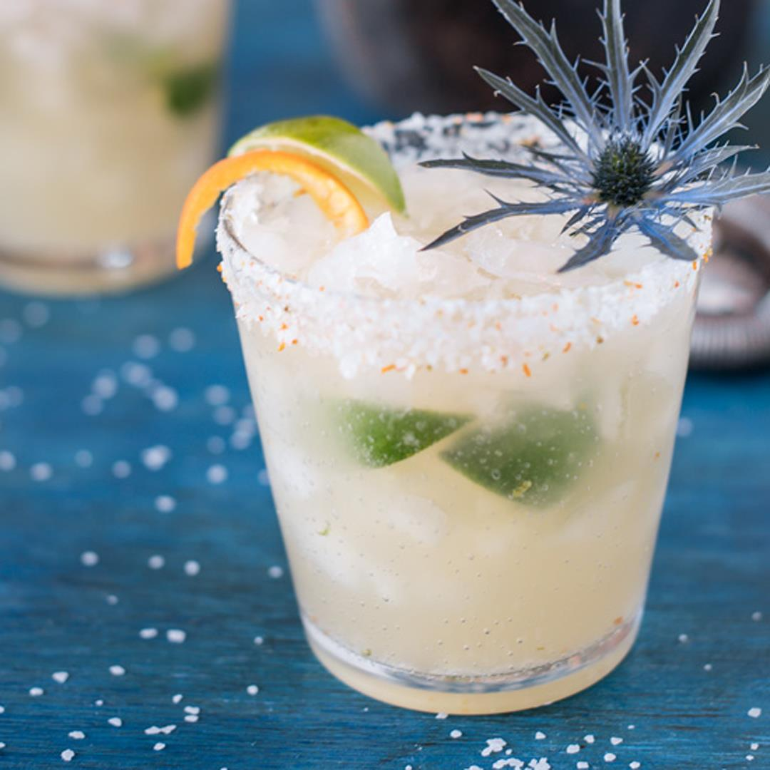Brazilian Margarita with Citrus Salt