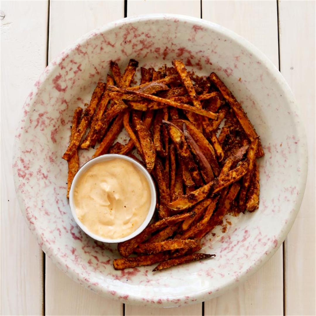 The Best Sweet Potato Fries (try this hack)