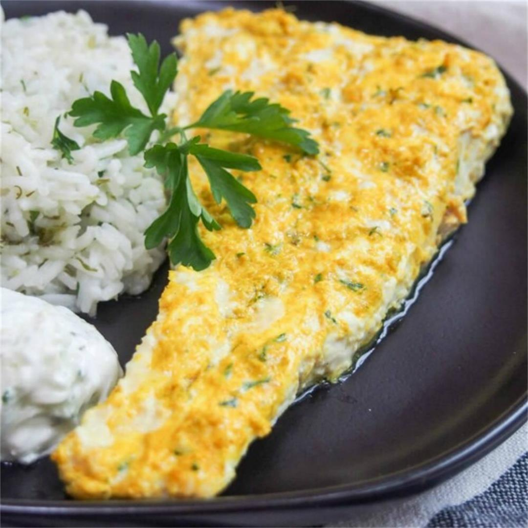 Persian style marinated fish