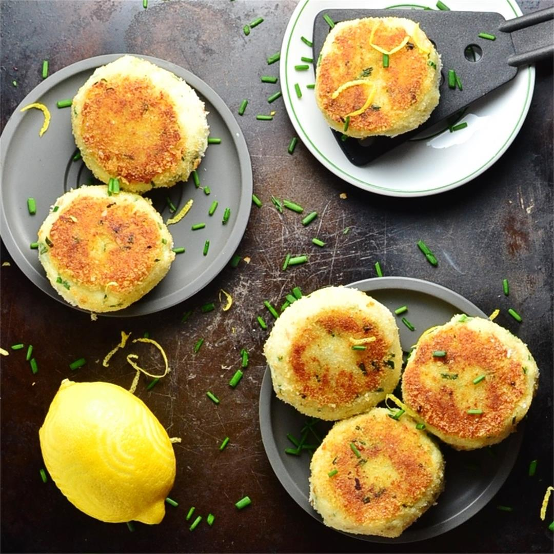 Easy Fish Cakes with Chives