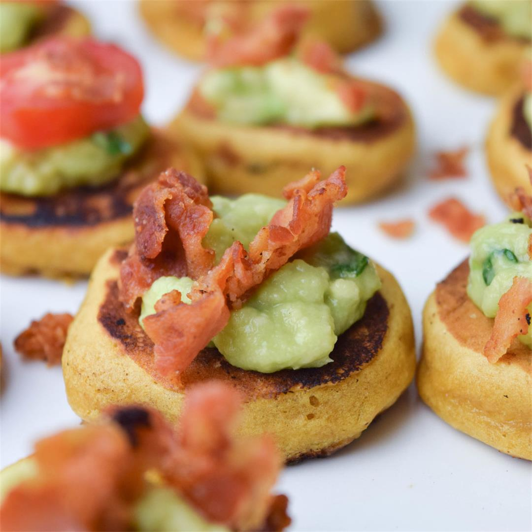 Sweet Potato Pancake Appetizers are Perfect for any Occasion!
