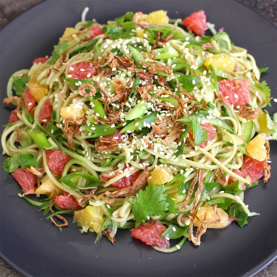 Green Tea Soba Noodle Citrus Salad