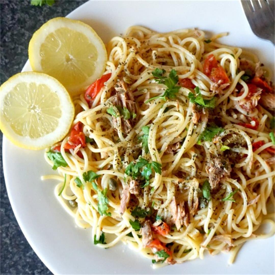 Quick Tuna Spaghetti