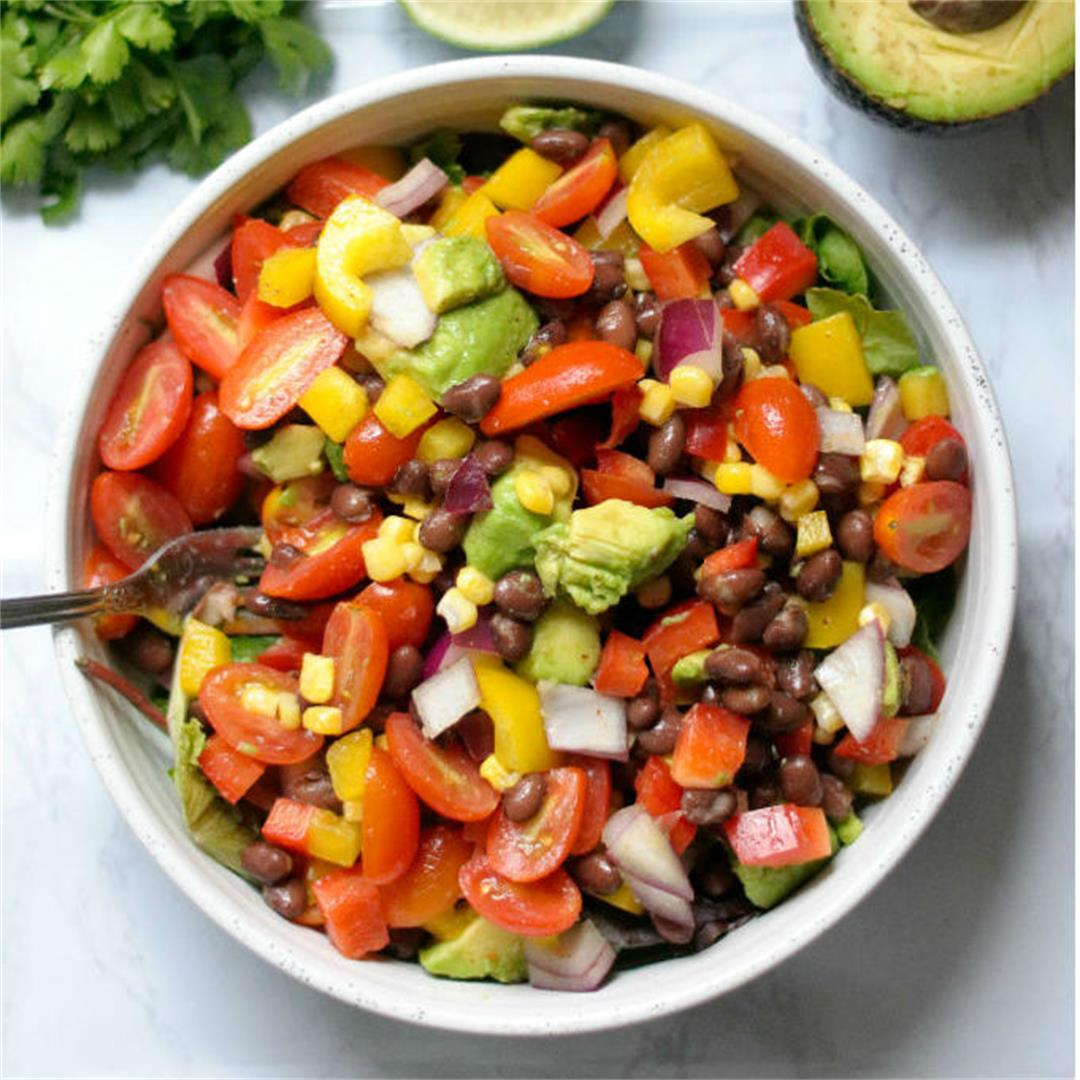 Fresh Black Bean Salad
