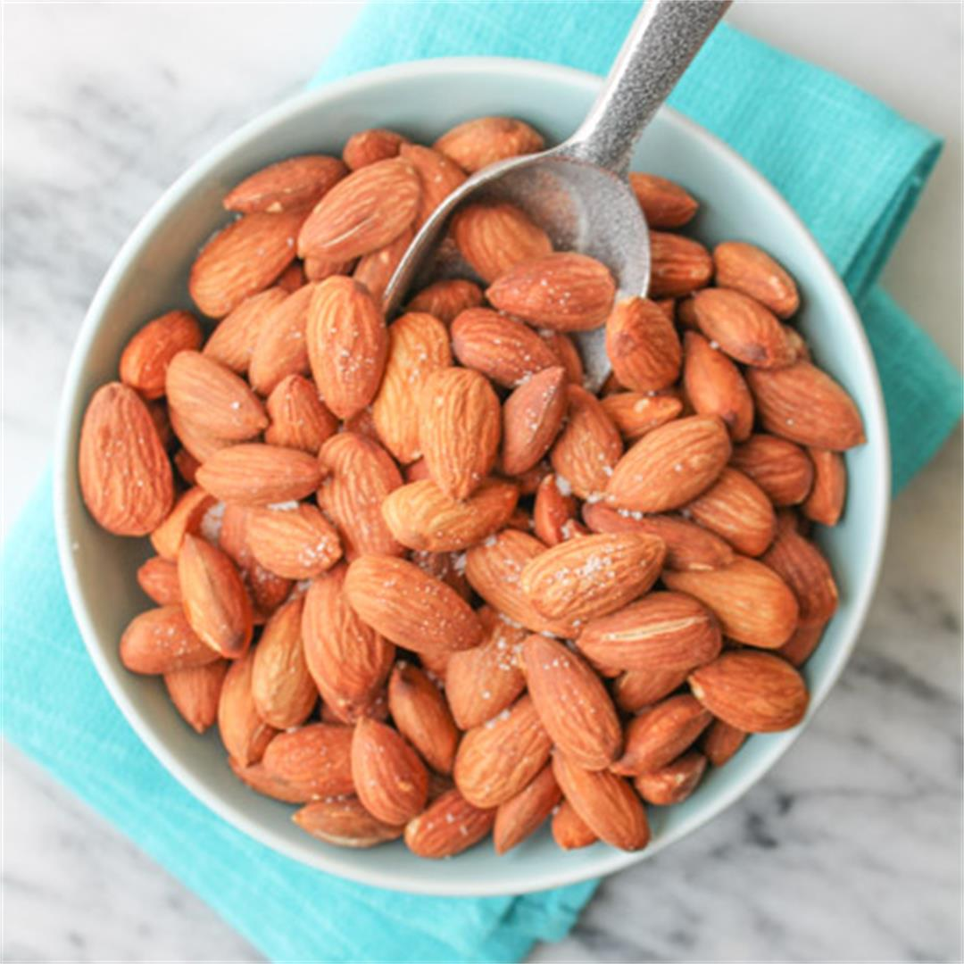 Dry Roasted Almonds are a simple, whole foods snack
