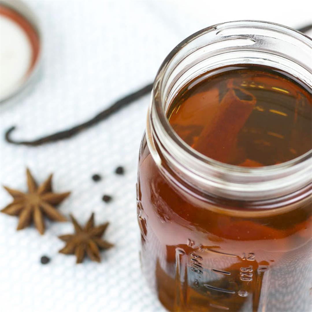 Homemade Spice Rum