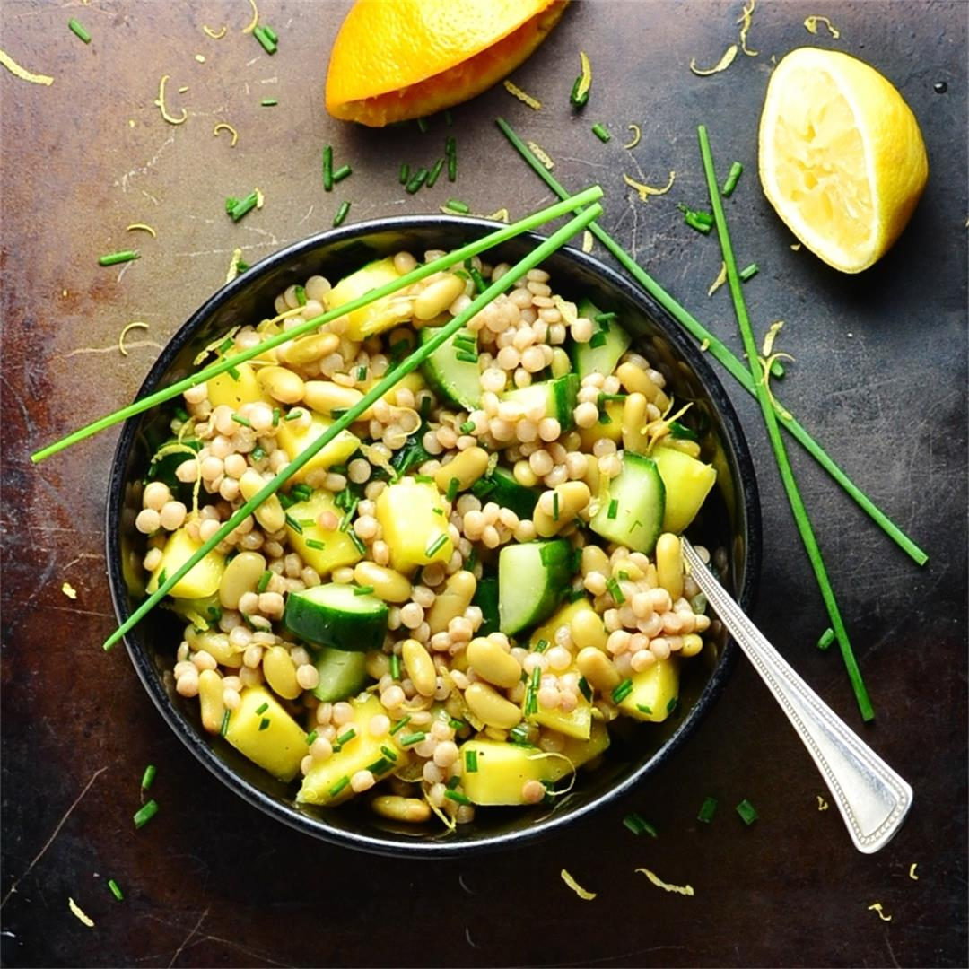 Giant Wholewheat Couscous Mango Salad