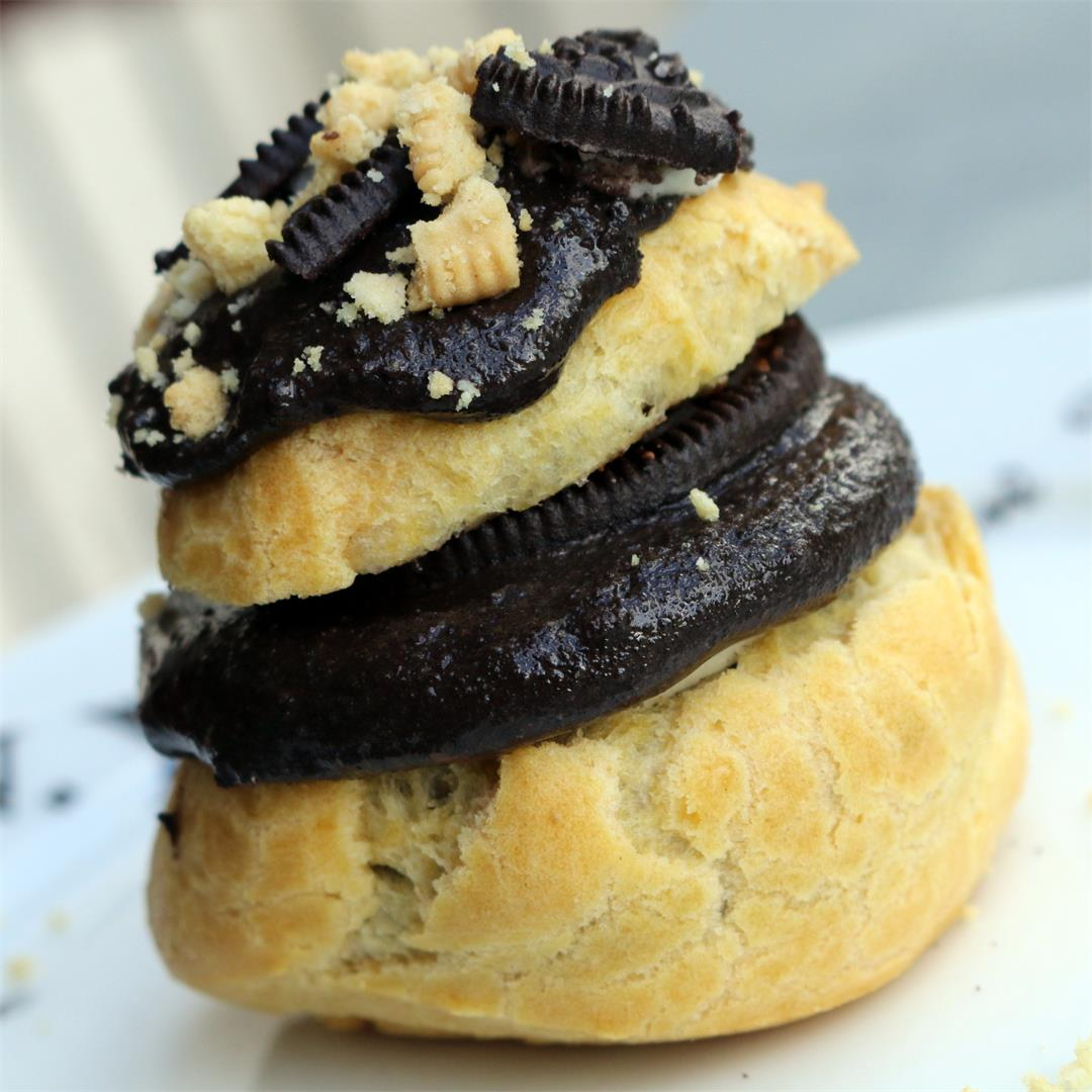 Oreo Nutella Cream Puffs