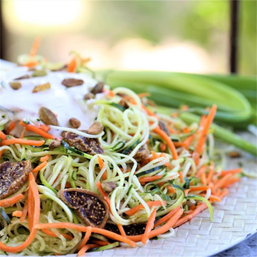 Angel Hair Zucchini Salad
