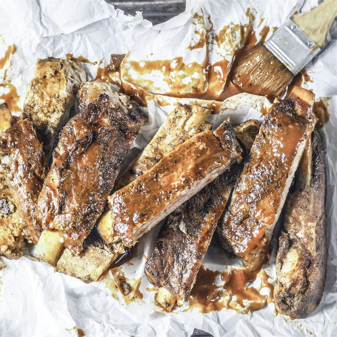Instant Pot Carolina Style Ribs