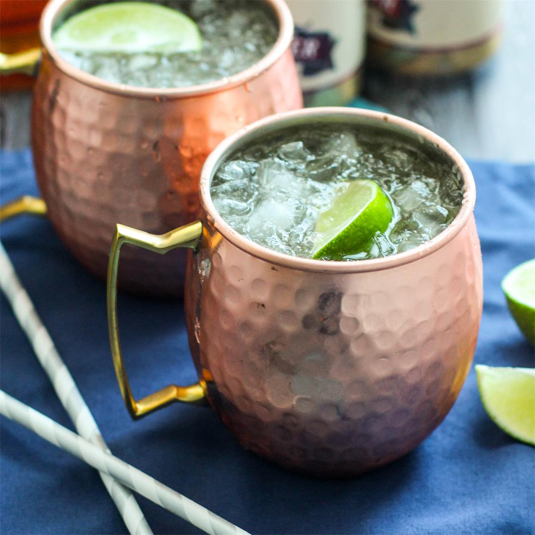 Bourbon Moscow Mule