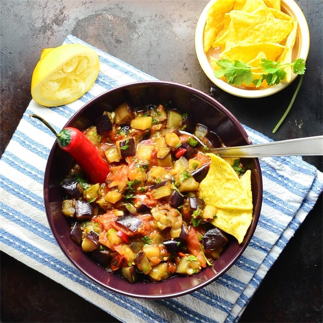 Eggplant Tomato Dip