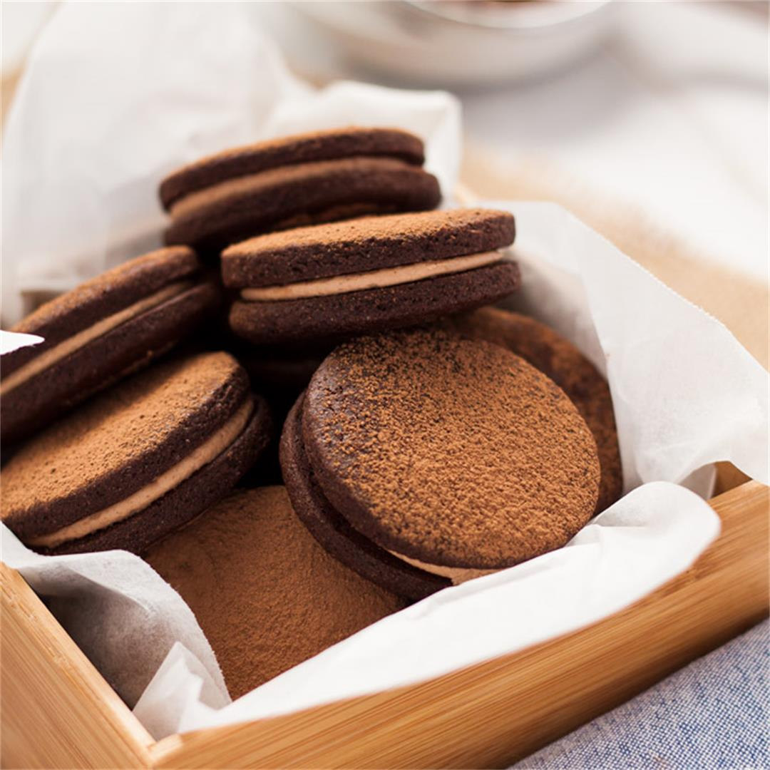 Nutella Chocolate Sandwich Cookies