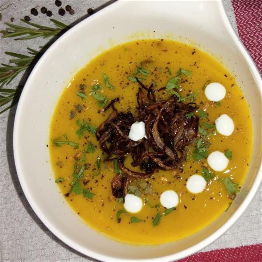 Low Carb Vegan Pumpkin Soup