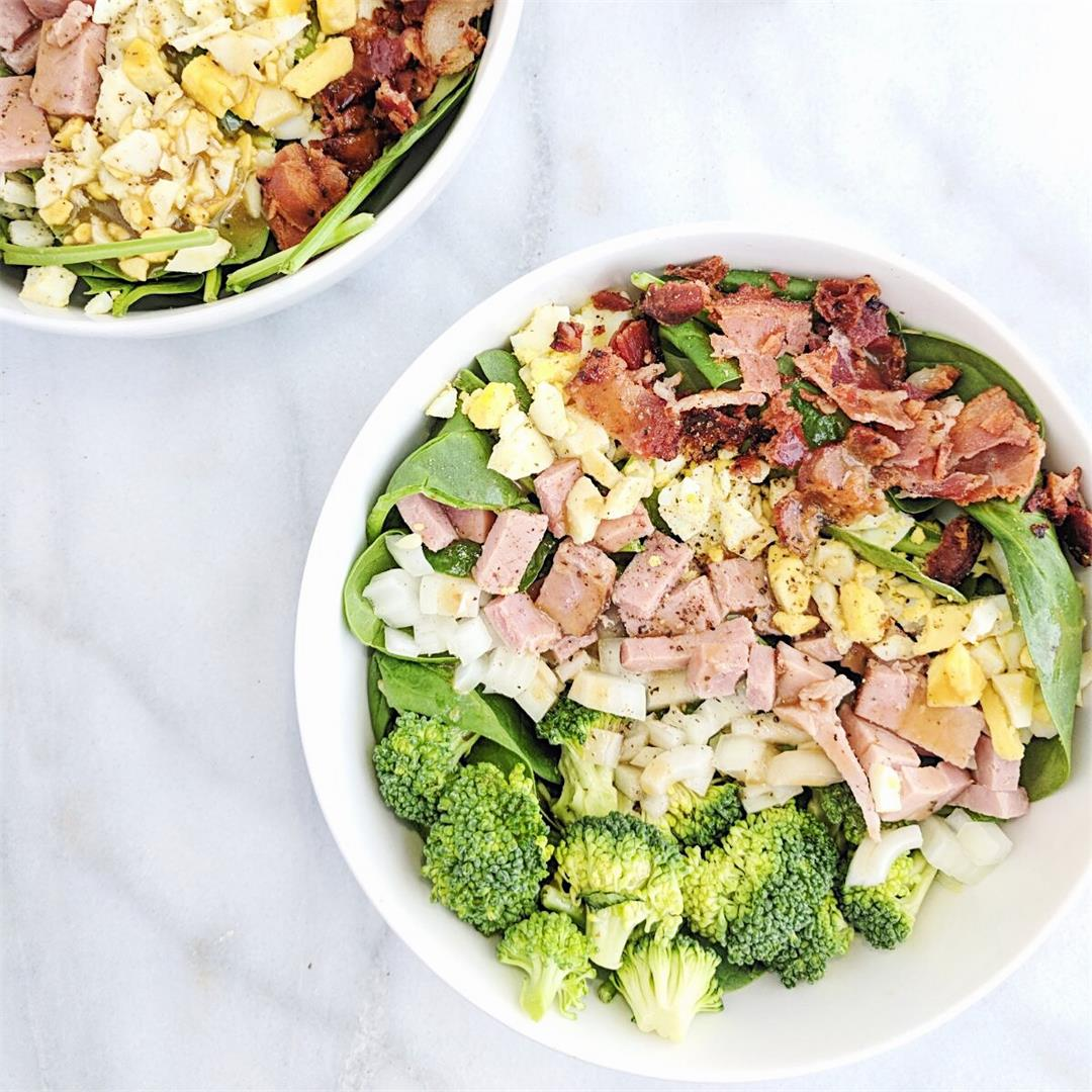 Spring Clean Cobb Salad - crunchy, clean and delicious!