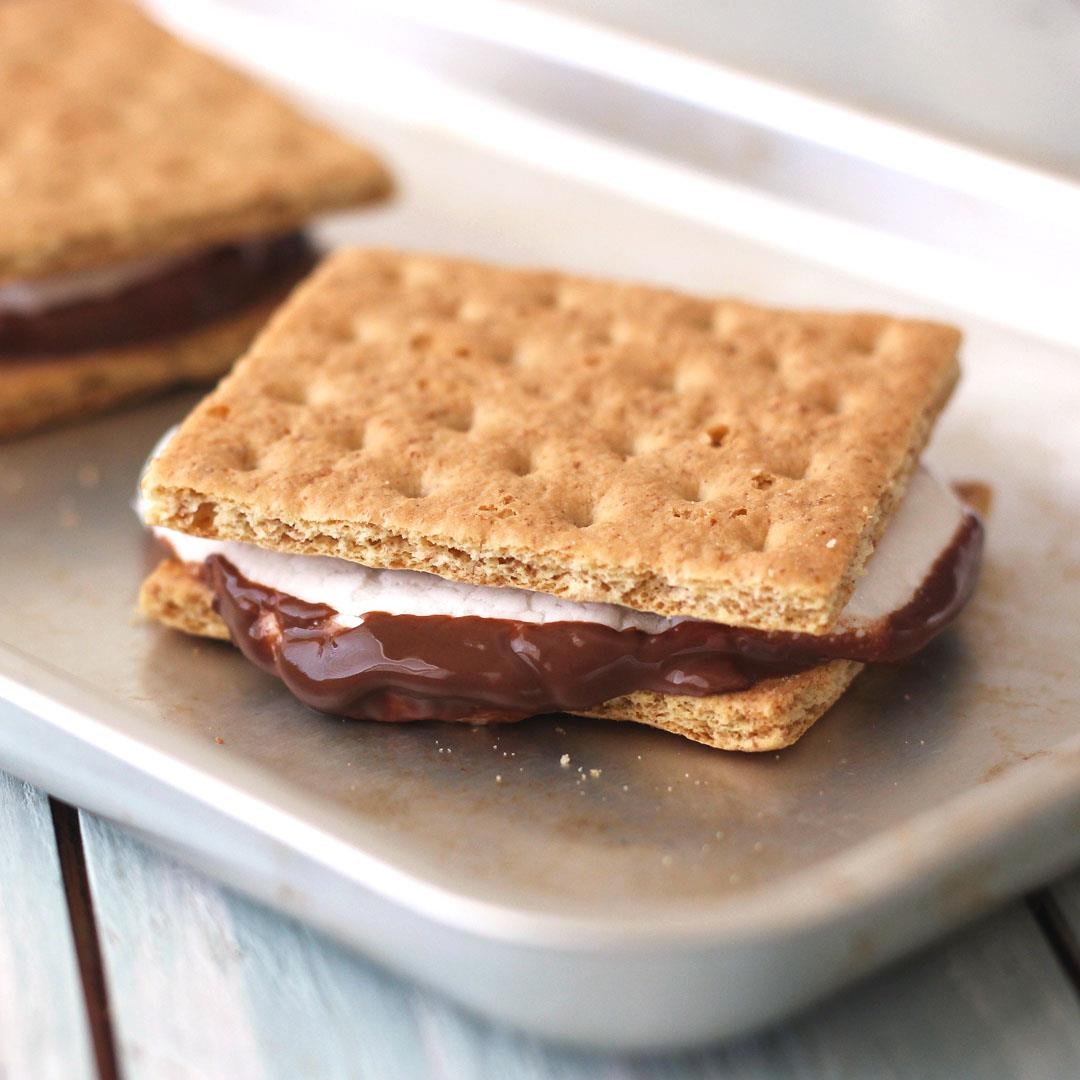 Toaster Oven S'mores