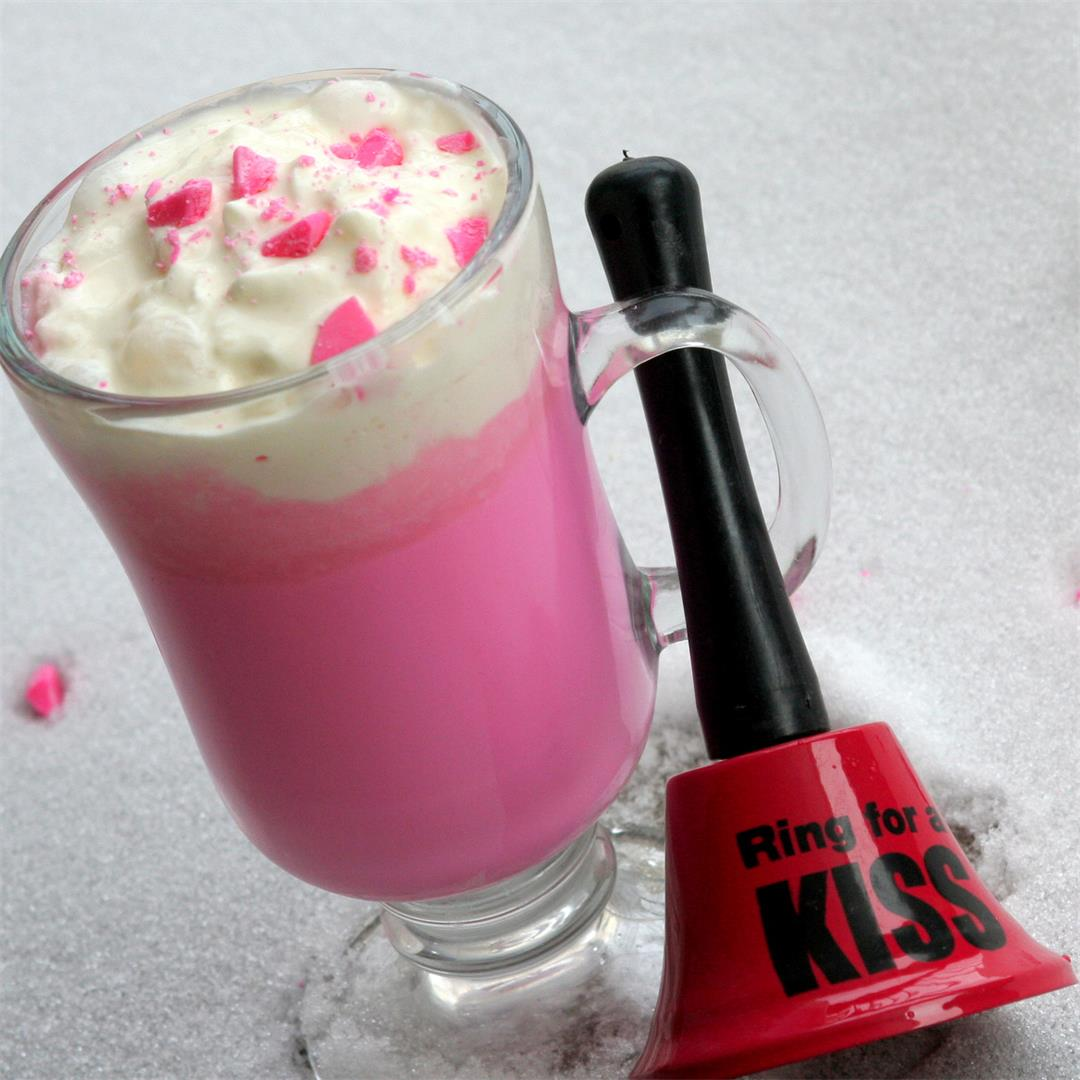 Pink Coconut Hot Chocolate