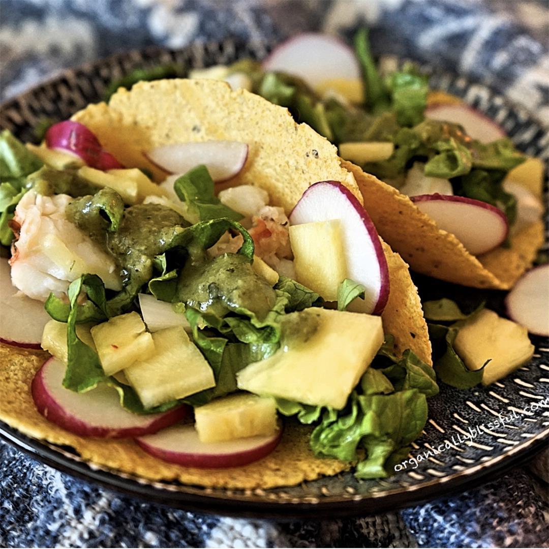 Tropical Lobster Taco Recipe