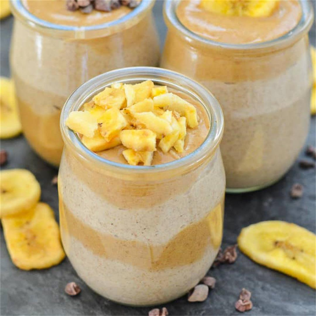 Vegan Healthy Caramel Chia Pudding