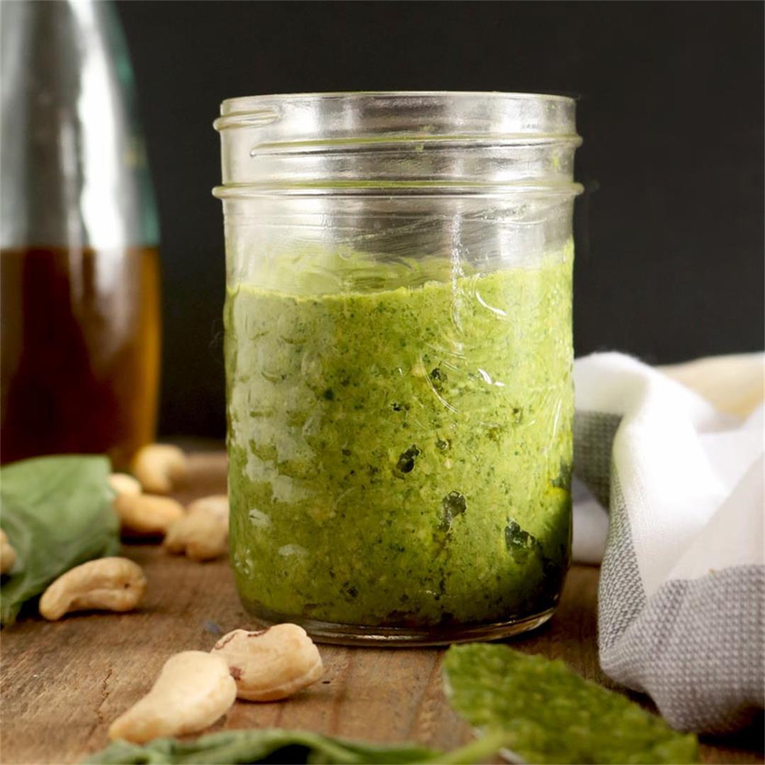 Super Antioxidant Vegan Cashew Pesto