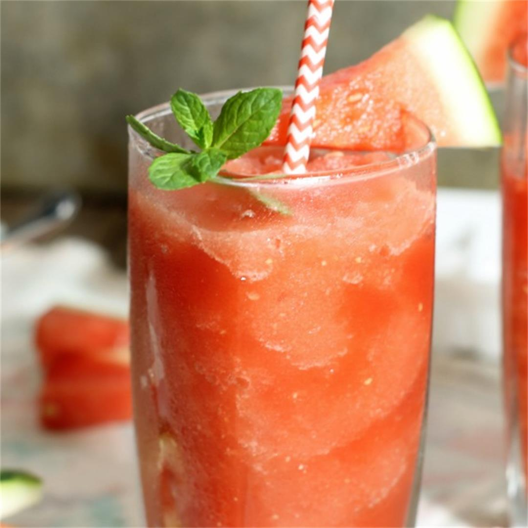 Watermelon Slushie (Alcohol Free)
