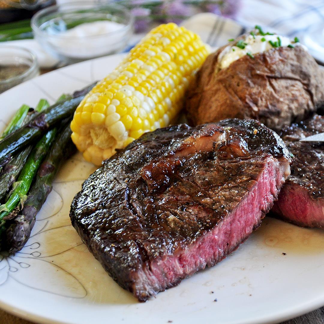 Grilling Steak Like a Boss - Ribeye