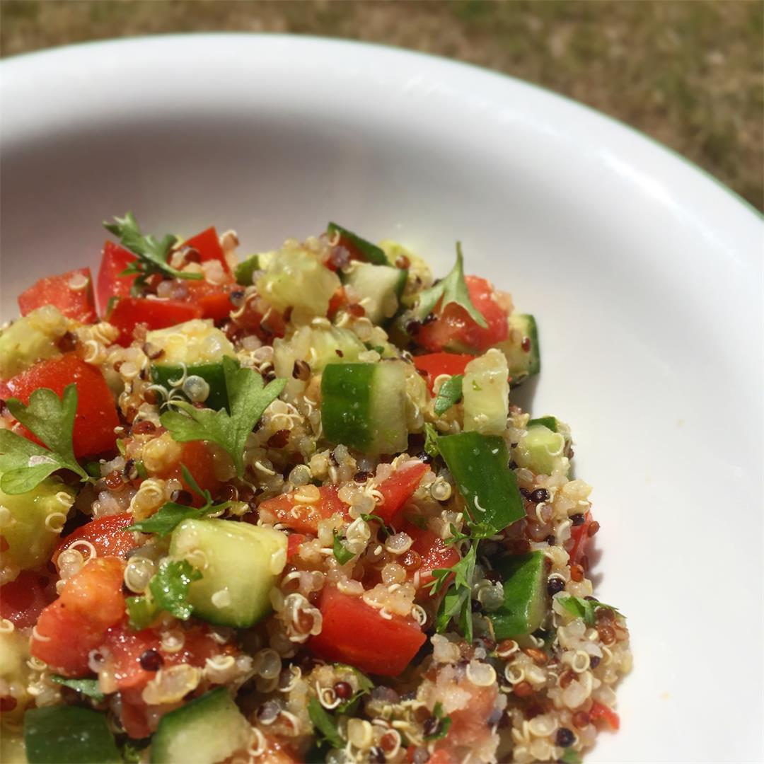 Quinoa Israeli Salad