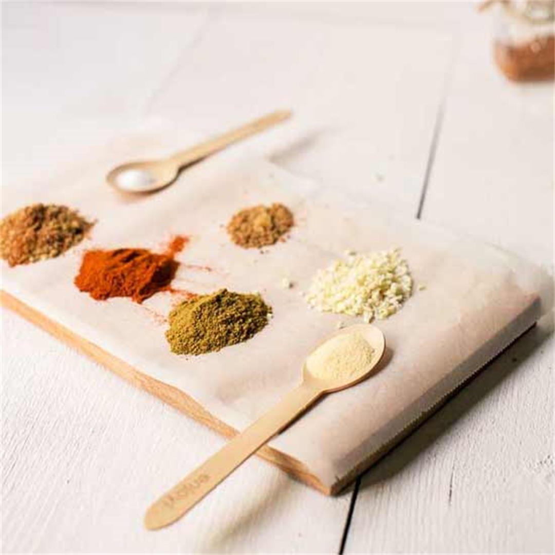 Easy to make enchilada seasoning mix