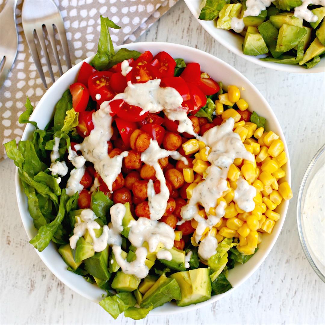 BBQ Ranch Chickpea Salad