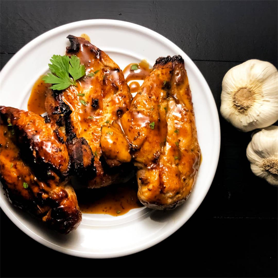 Gluten Free Creole Smoked Chicken Breasts