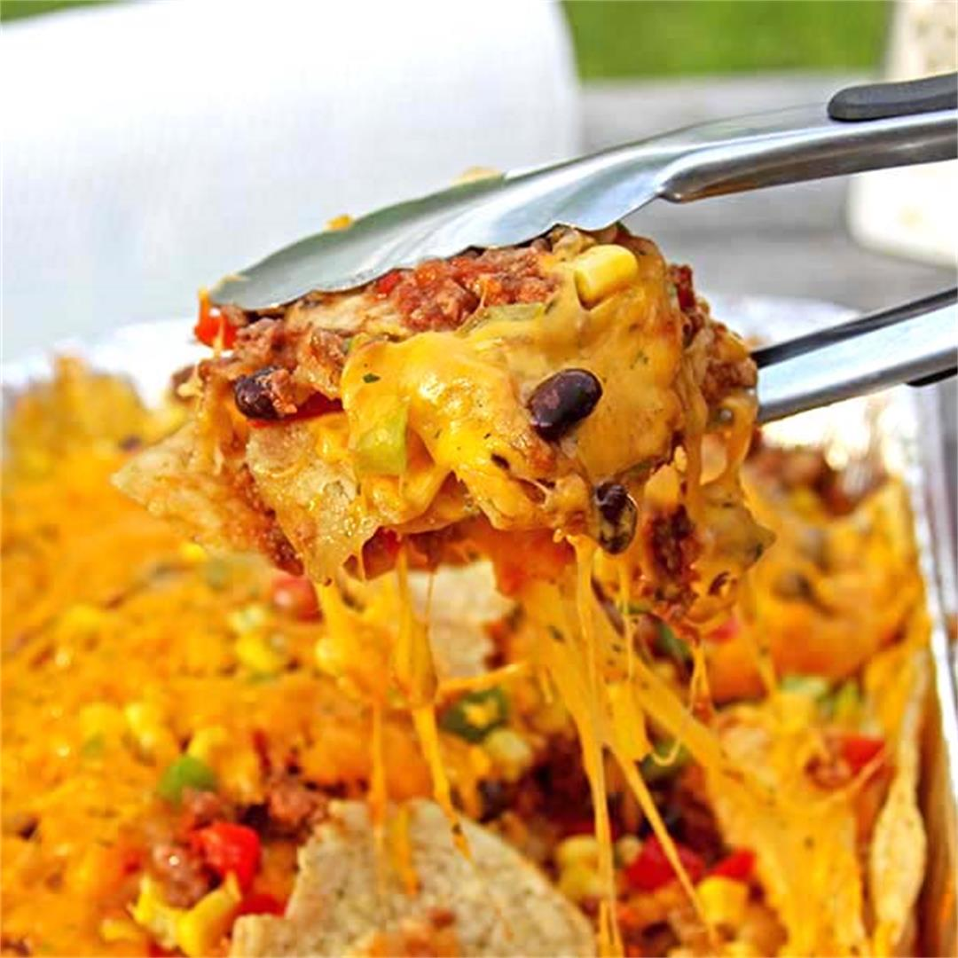 Weeknight Grilling Nachos