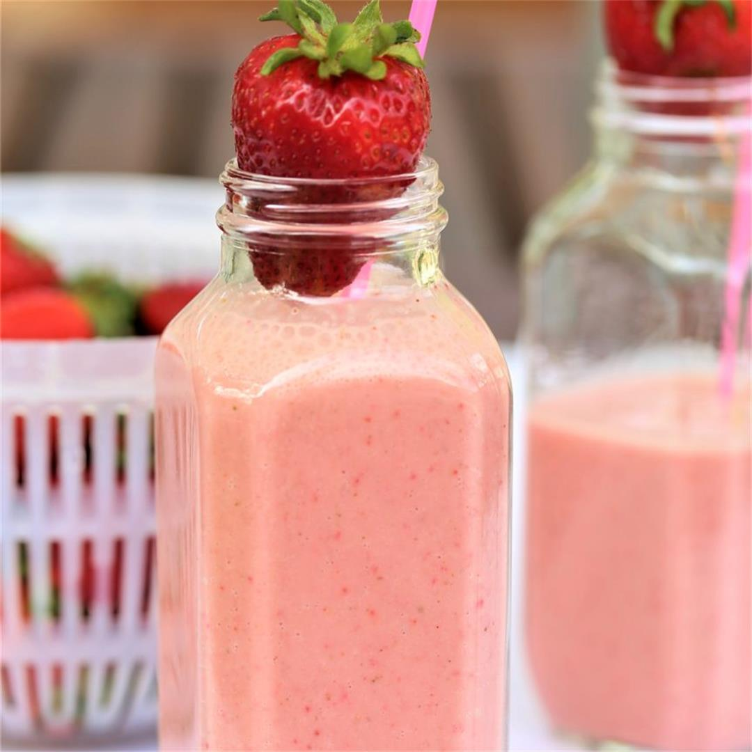 Strawberry Chai Smoothie