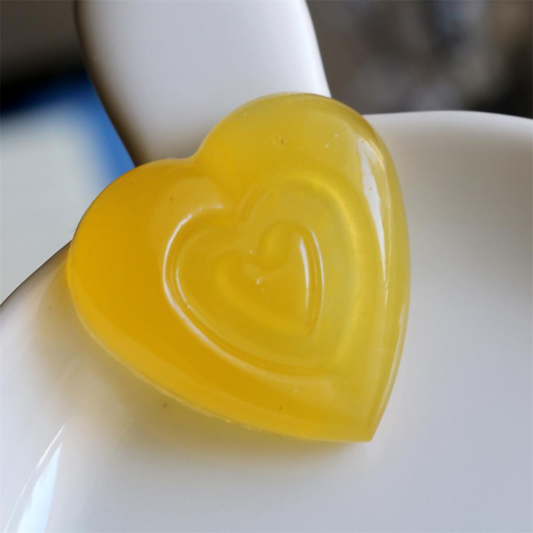 Organic Orange Gummy Hearts–Is your heart enough flexible