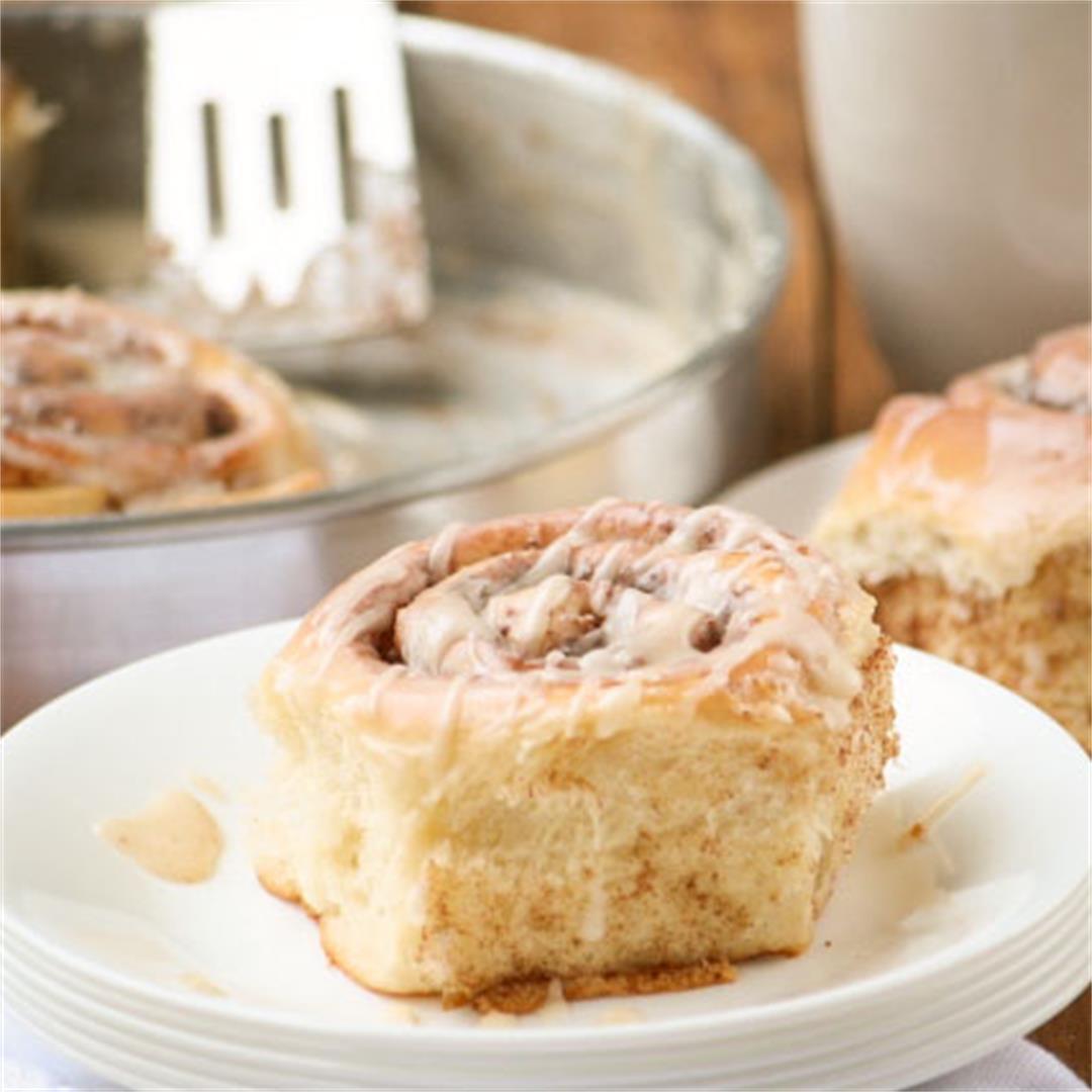 Homemade, Fluffy Cinnamon Rolls