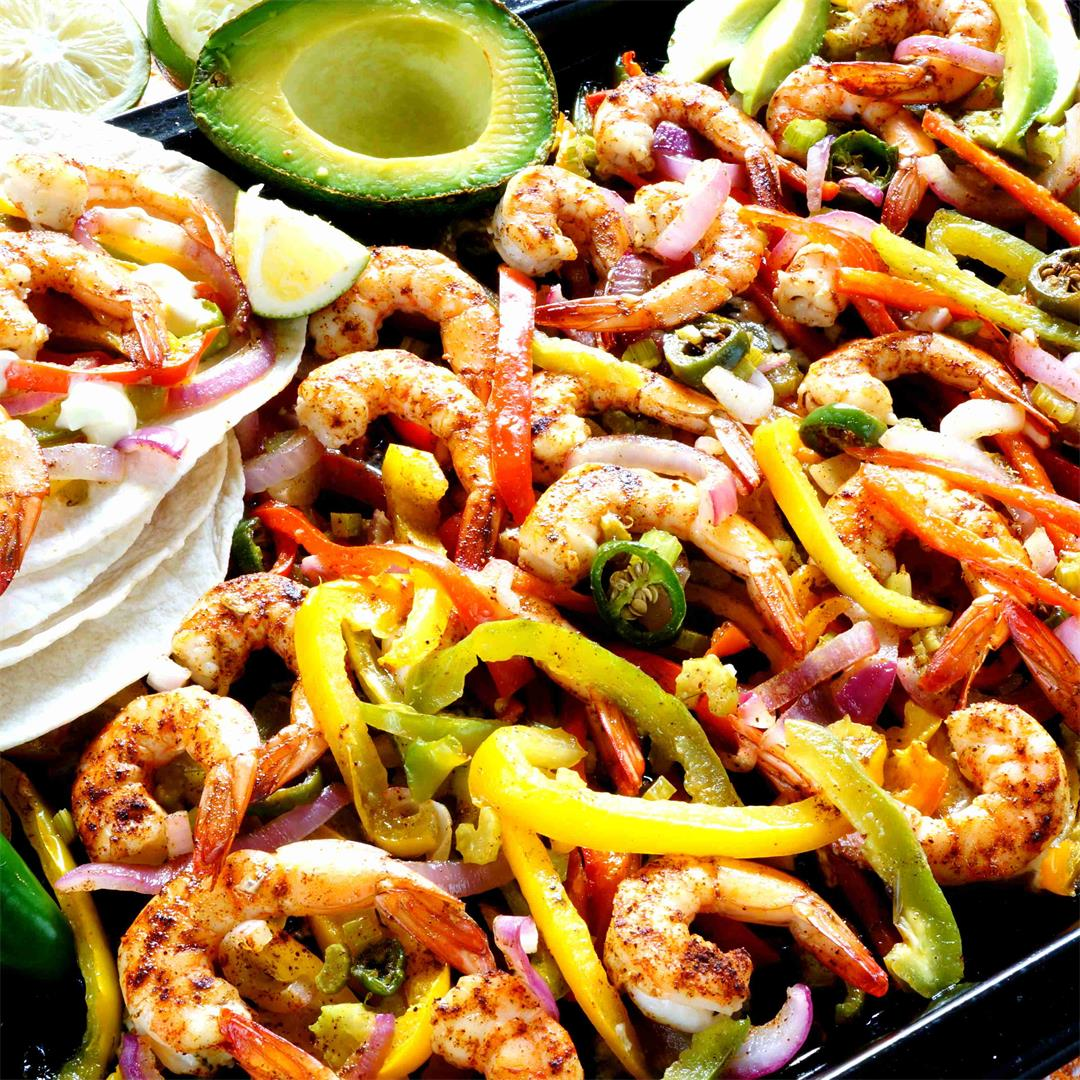 Low Carb Sheet Pan Fajitas