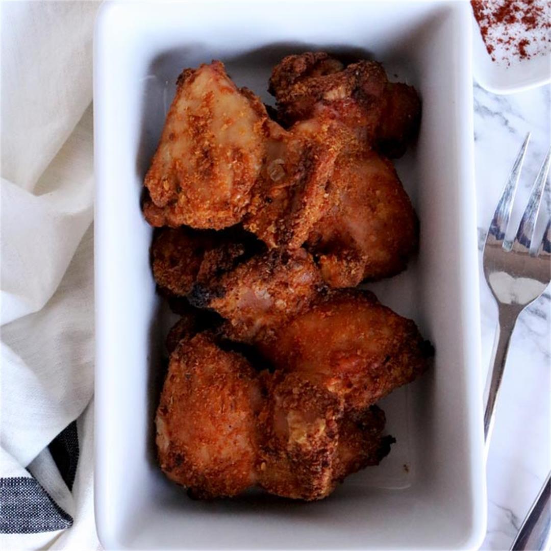 Crispy Oven Baked Grain-Free Chicken Thighs