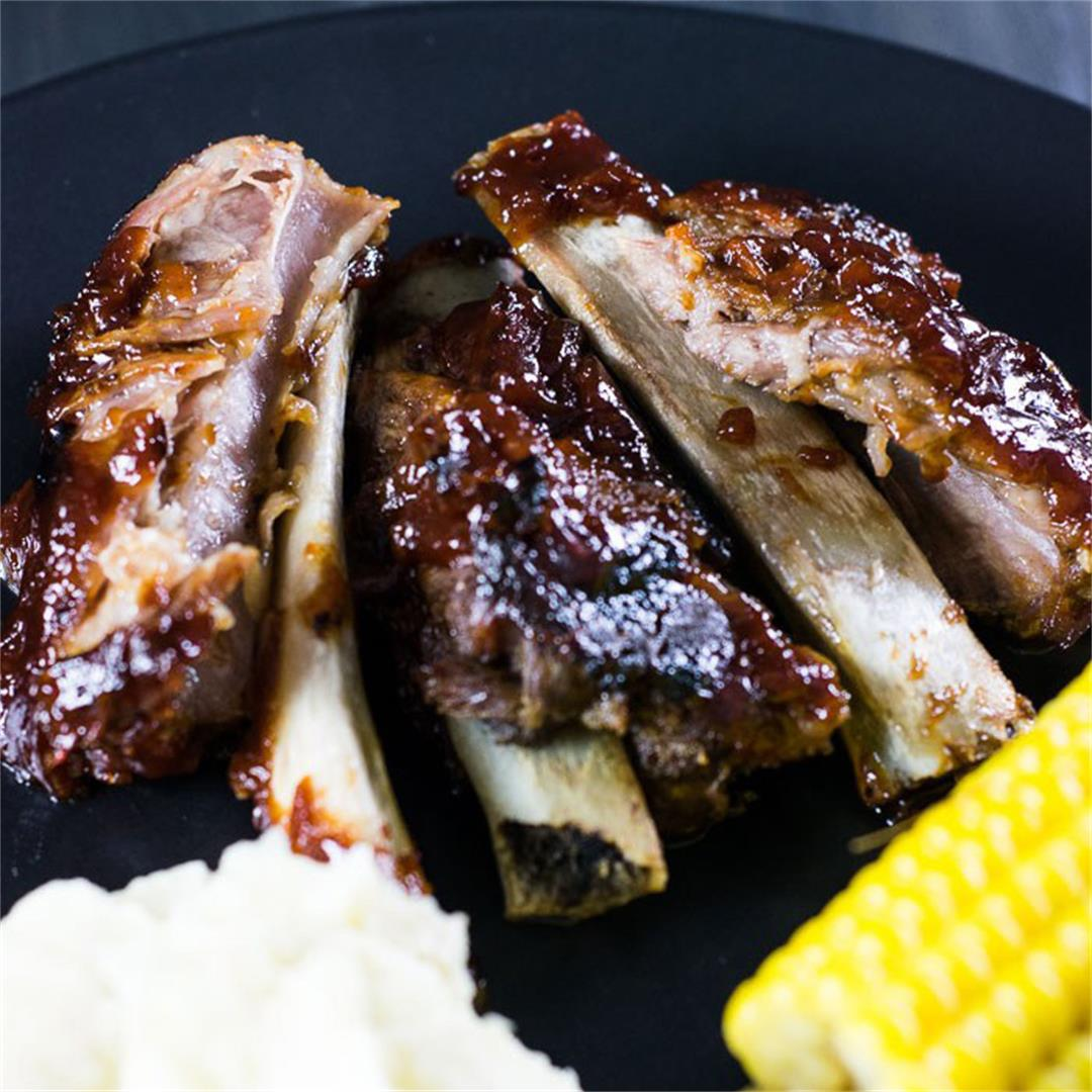 The Best and Easiest Ever Barbecue Pork Ribs