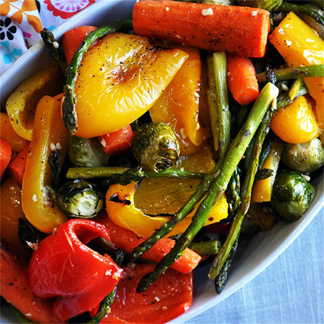 Perfect Oven Roasted Vegetables