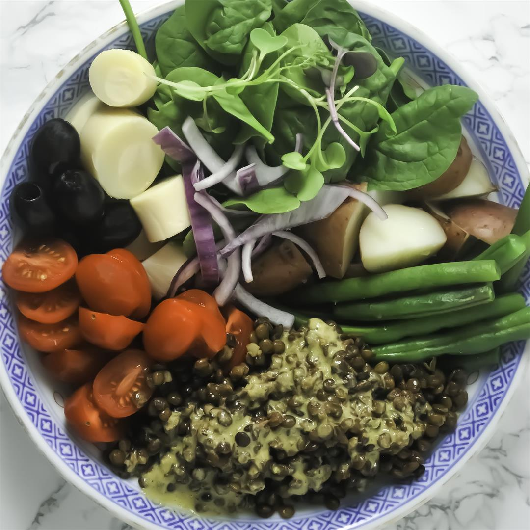Healthy Nicoise Salad